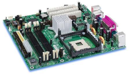Intel D865GRH met TPM-chip
