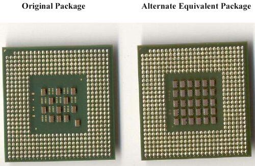 Nieuwe package Intel
