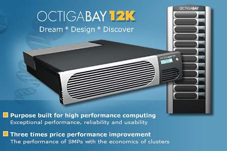OctigaBay 12K 6x2-way Opteron systeem