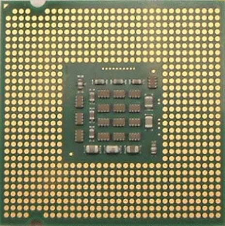 Socket 775 Prescott (onderkant)
