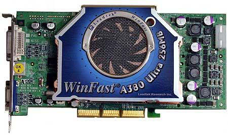 Leadtek WinFast A380 Ultra TDH MyViVO