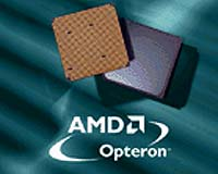 Opteron-64 bit procs met achtergrond