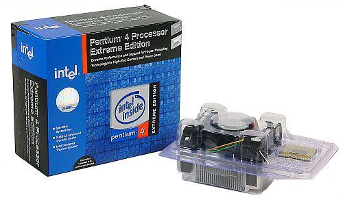 Pentium 4 Extreme Edition 3,2GHz boxed (klein)