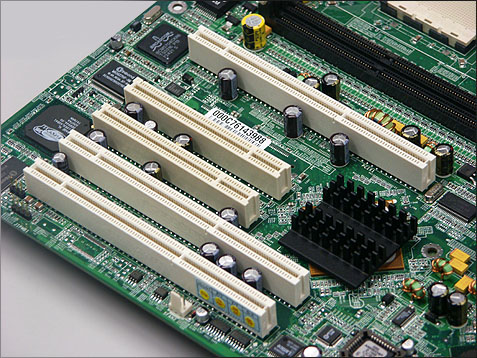 MSI K8D Master PCI slots