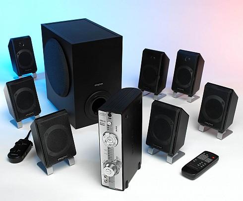 Creative DDTS-100 Decoder en Inspire TD7700-speakerset