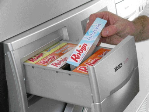 Living Tomorrow - Bosch Wasautomaat (wascartridges)