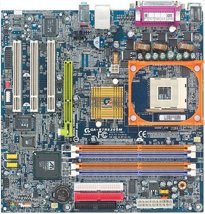 Gigabyte P4 Titan 8TRS300M-moederbord (ATi RS300)