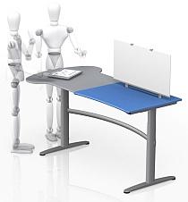Living Tomorrow - Gispen T-Desk (staan klein)