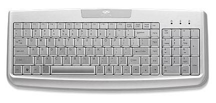 Zippy WK-720 aluminium keyboard