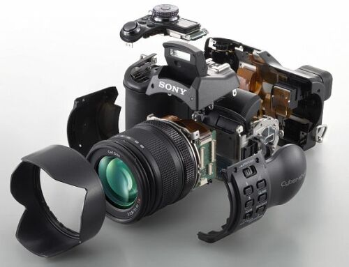 Sony DSC-F828 (exploded view)