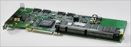 Promise FastTrak S150 SX4 PCB met DIMM