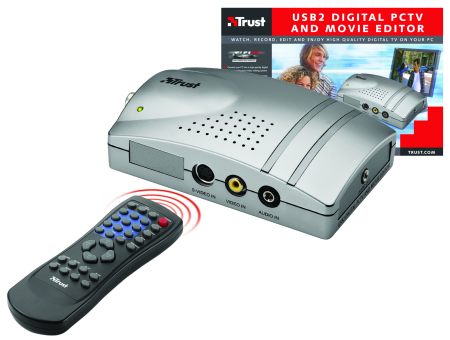 Trust USB2.0 Digital PCTV and Movie Editor