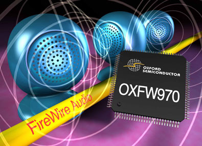 Oxford Semiconductors FireWire audiocontroller