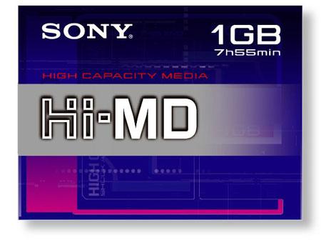 Sony Hi-MD MiniDisc