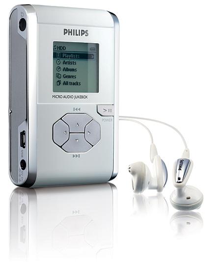 Philips micro-jukebox mp3-speler