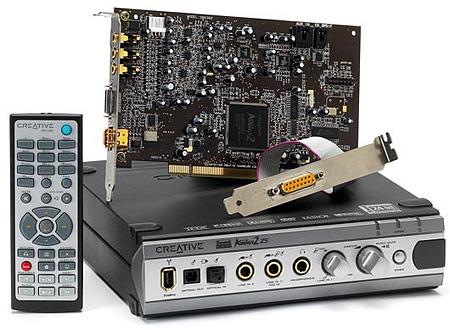 Sound Blaster Audigy 2 ZS Platinum Pro geluidskaart