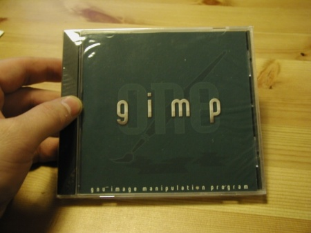 The GIMP One cd (normaal)