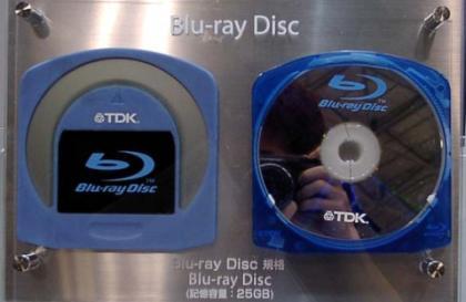 TDK Blu-ray discs