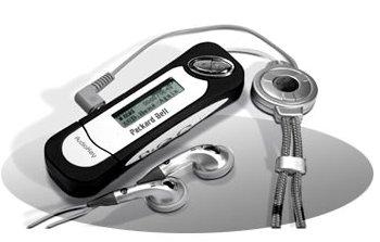 Packard Bell AudioKey met oordoppen