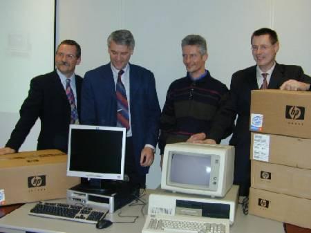 Oudste PC van Nederland (IBM 5160)