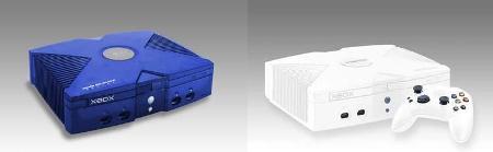 XBOX blauw wit