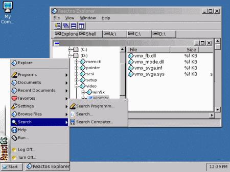 ReactOS 0.2 (klein)