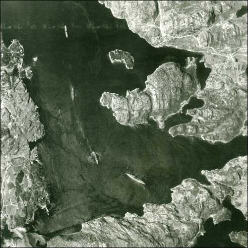 Luchtfoto WOII - 6 (Bismarck)