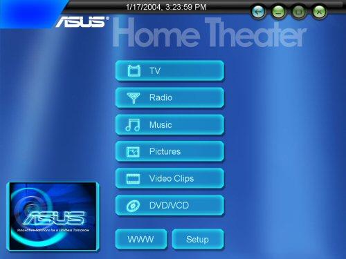 Asus DigiMatrix Home Theatre software