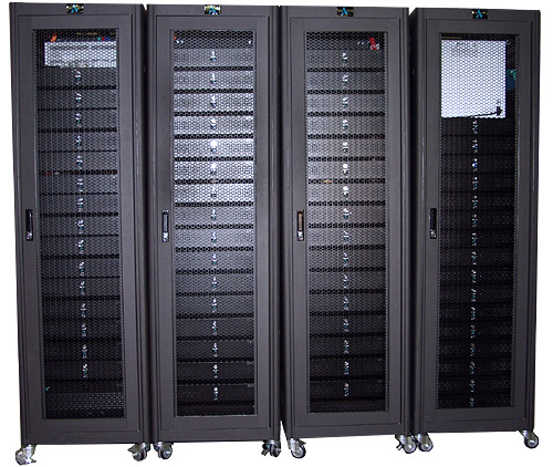 Beowulf cluster 64-node dual Athlon MP