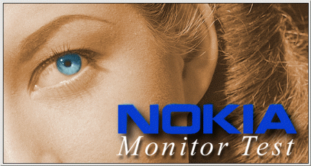 Nokia Monitor Test splash screen