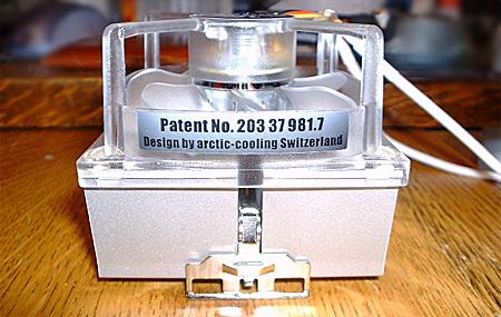 Arctic Cooling Copper Silent 2L-koeler