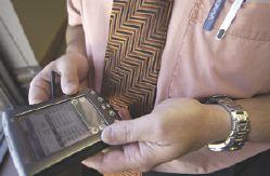 Dokter met PDA