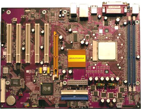 ECS 755-A2 moederbord