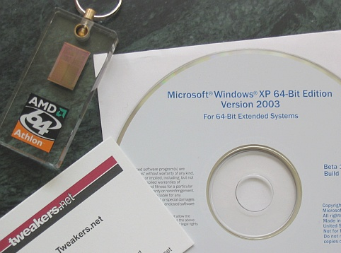 Windows XP 64-bit Edition cd