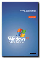 Windows XP 64-bit box