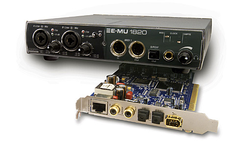Creative Professional E-MU 1820 Digital Audio Systeem