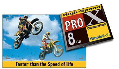 SimpleTech 8GB CompactFlash-kaart