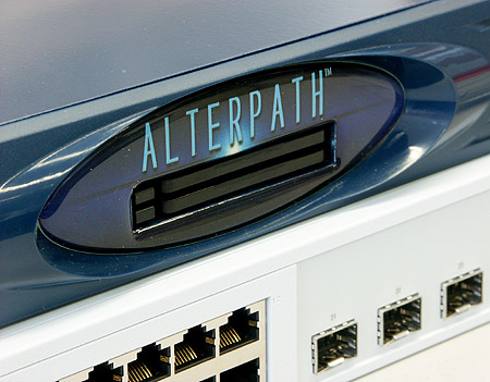 Cyclades Alterpatch ACS console switch detail
