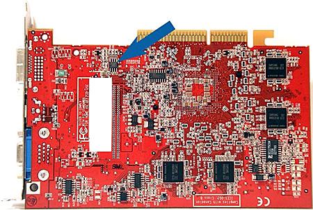 Radeon 9600 XT met overdrive