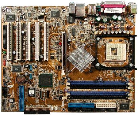 Asus P4P800 Deluxe moederbord