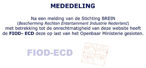 Ondertitels.nl offline door FIOD-ECD