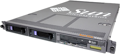 Sun Fire V20z dual Opteron-server perspic (groot)