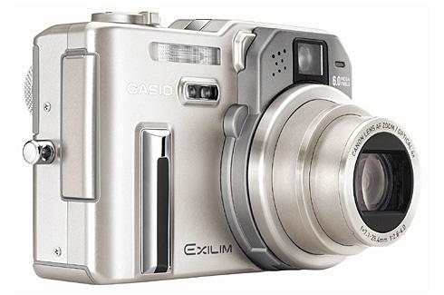 Casio Exilim Pro EX-P600 camera