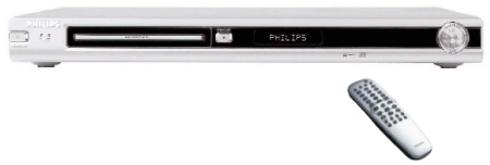 Philips DVD737 met remote controller