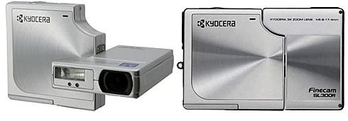 Kyocera SL400R digicam