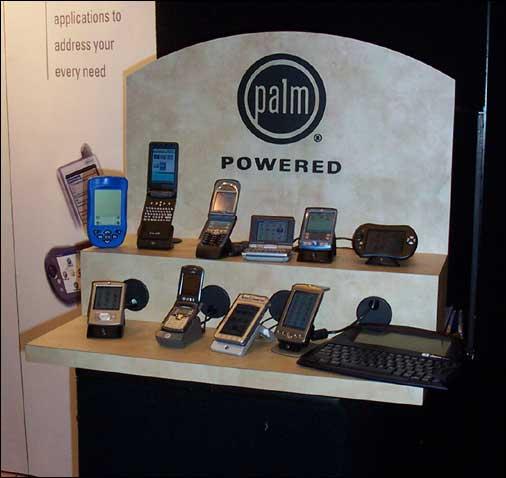 PDA's met Palm OS geinstalleerd