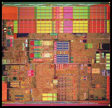 Intel Prescott die (450)