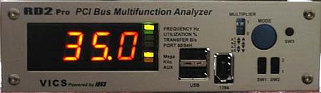 PC Geiger-apparaat op PCI-bus zonder PCI/AGP-lock