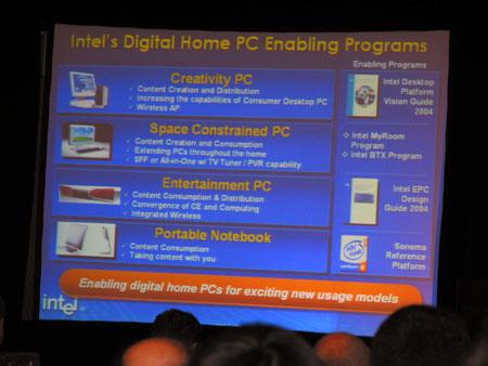 IDF 2004 - Digital Home slides