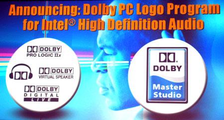 IDF 2004 - Louis Burns keynote - Dolby logo program aankondiging